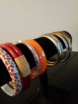 9 New Bracelets Multi- Designs Colors image 2