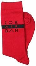 Nike Men's Jumpman Air Jordan Print Crew Socks Size 8-12 SX5320-687 - $15.99