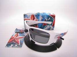 New Oakley Limited Edition Propaganda  Hijinx Plshd White w/Blk Ird Pola... - $392.00