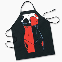 Batman, Harley Quinn Character Adult Polyester Apron, NEW SEALED - $11.64