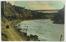 Old Divided Postcard Whirlpool Rapids & Great Gorge Route Niagara Falls,... - $14.65
