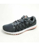 Nike Womens 6.5 Flex Fury 2 Running Shoes Gray 819135-006 Low Top Lace Up - $24.53
