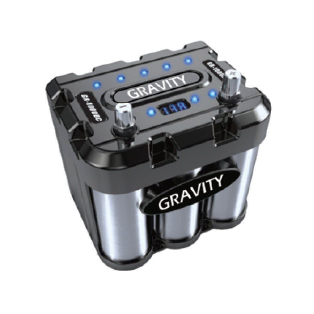 Gravity Car Battery Capacitor