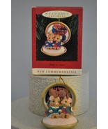 Hallmark - Sister to Sister - 2 Sister Mice in a Compact - 1993 Classic Ornament - $14.47