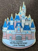Disney Pin Trading Shanghai Disney Resort Enchanted Storybook Castle Pin - $8.90