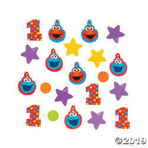 Sesame Street Elmo Turns One Confetti - $3.86