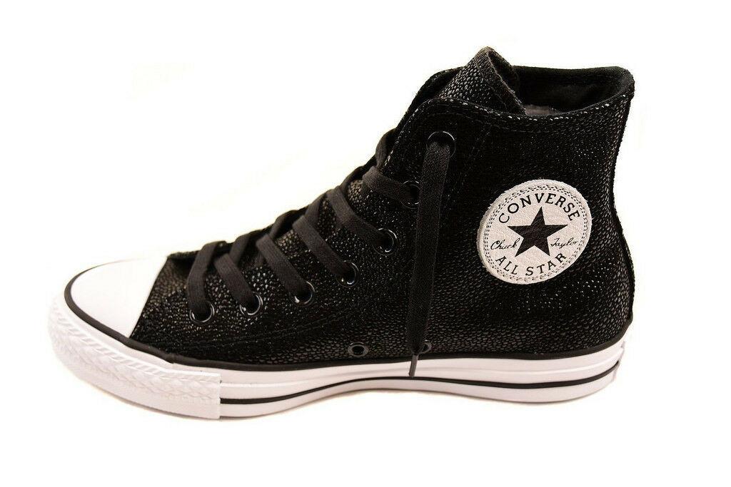 Converse Womens CTAS Stingray Metallic 553345C Sneakers Black Size US 8 RRP $124