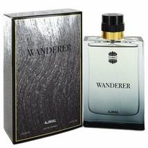 Ajmal Wanderer by Ajmal 3.4 oz 100 ml EDP Spray for Men New in Box - $30.35