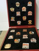 Cleveland Browns NFL Pin Set (22 Pins, Info Cards & Display Box) - Willa... - $173.25