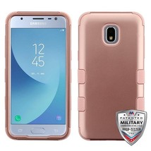 Rose Gold TUFF Case Cover for SAMSUNG Galaxy J3 V 2018/Star/Achieve - $13.39