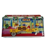 M&M Christmas Village Tin  Series Dinner #4  1996 Sealed New Collectable - $17.99