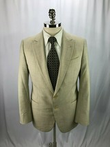 Armani Collezioni Men's Beige Blazer Jacket Sport Coat 40R - $79.00