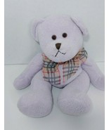 Sootheze plush Purple Teddy Bear hot cold pack microwave freezer aromath... - $13.36
