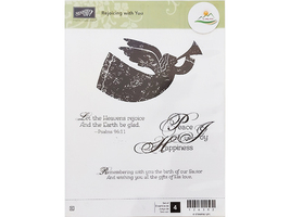 Stampin' Up! Rejoicing with You Rubber Stamp Set #126302 - $9.99