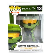 Funko Pop! Halo Master Chief with MA40 Weapon #13 Vinyl Action Figure