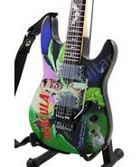 Miniature Guitar Kirk Hammett Metallica DRACULA Art Style - $25.90