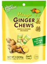 Prince of Peace Ginger Chews Candy with Mango ( 100% Natural ) 4 oz - $5.93