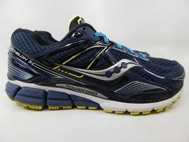 Saucony Echelon 5 Size US 9 M (D) EU 42.5 Men's Running Shoes Blue S20276-1