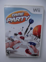 Game Party~ Original 2007 Nintendo Wii Video Game~ Complete - $6.40