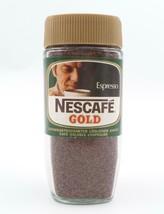 Nestle Espresso Nescafe Gold Glass Jar Advertising Foreign Language NOS ... - $24.99