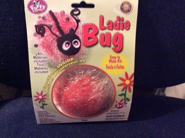 Pepperell Crafts Furry Friends Kit Ladie Bug NEW all Materials Included ... - $5.75