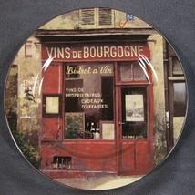 Sakura Storefronts Vins De Bourgogne Snack Plate French Wine Shop Chiu T... - $10.75