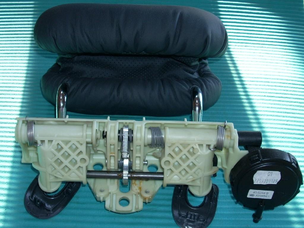 2002 MERCEDES S500 S430 S55 S-CLASS CENTER REAR SEAT POWER HEADREST OEM