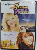 DVD  -  HANNAH  MONTANA  ( THE  MOVIE ) - $3.00