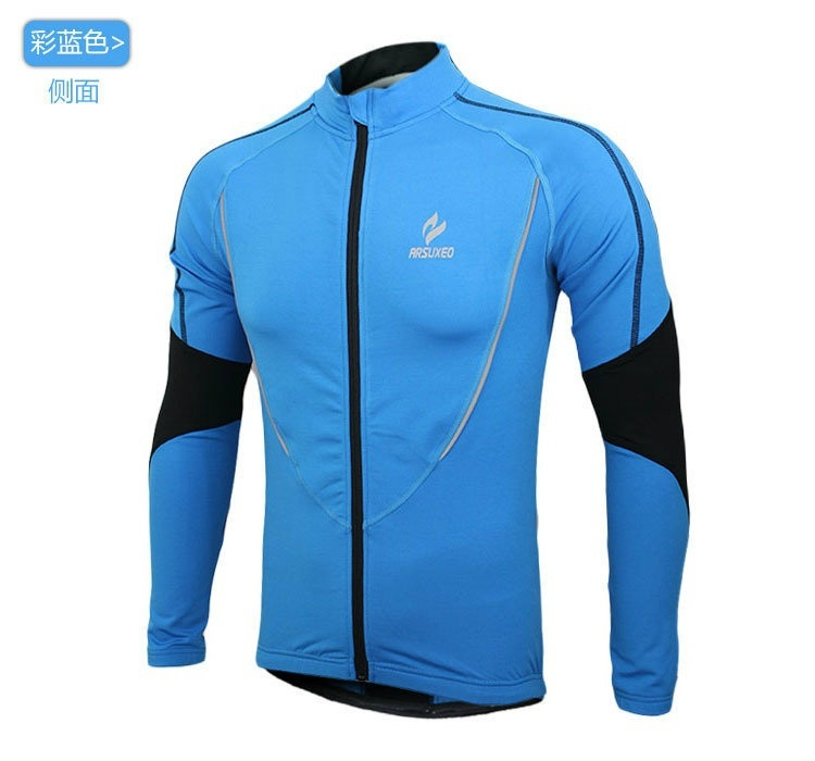 Warm autumn and winter models Cycling Jackets Sports Jerseys Men's Riding Breath image 3