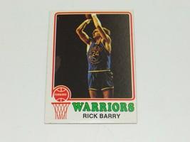 1973 Topps Rick Barry #90 Golden State Warriors - $14.84