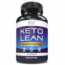 Keto Lean Diet Pills Advanced Weight Loss BHB Salts, Burn Fat Ketosis, E... - $15.37