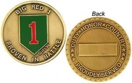 U.S ARMY 1ST INFANTRY DIVISION  BIG RED CHALLENGE COIN - $16.24