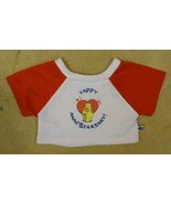 Build-A-Bear Happy AnniBearsary Shirt 03-010v * Fabric * - $8.14