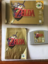 Legend of Zelda: Ocarina of Time (Nintendo 64, 1998) - AMERICAN Version ... - $58.99