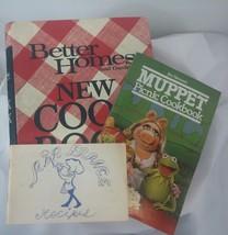 Better Homes Gardens New 1972 Cookbook Plus Muppet Picnic Cookbook - $9.89