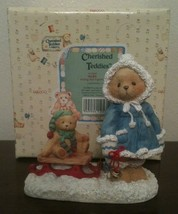 Mary ~A Special Friend Warms The Season Enesco Cherished Teddies Figurin... - $8.90