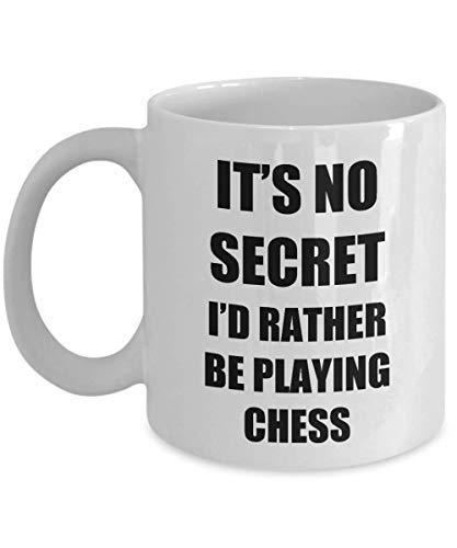 Chess Mug Sport Fan Lover Funny Gift Idea Novelty Gag Coffee Tea Cup