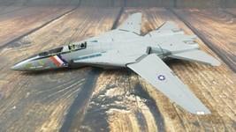 "AN HOOCH ROBERTS F-14 JET FIGHTER DIE-CAST Model 15.5"" Airplane Plane Na... - $11.85"