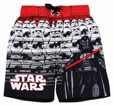 DARTH VADER STAR WARS UPF-50+ Bathing Suit Swim Trunks Boys Size 4, 5/6 ... - $15.47+