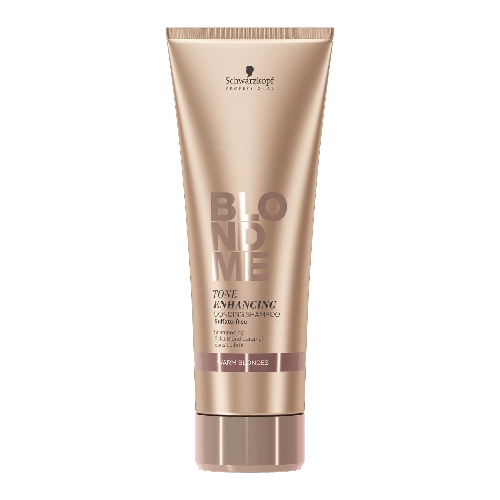 Schwarzkopf BlondMe - Tone Enhancing Bonding Shampoo for Warm Blondes 8.45oz
