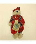 Boyds Bears Red Plaid Desdemona Plush Teddy Bear Stuffed Toy 11″ - $29.99