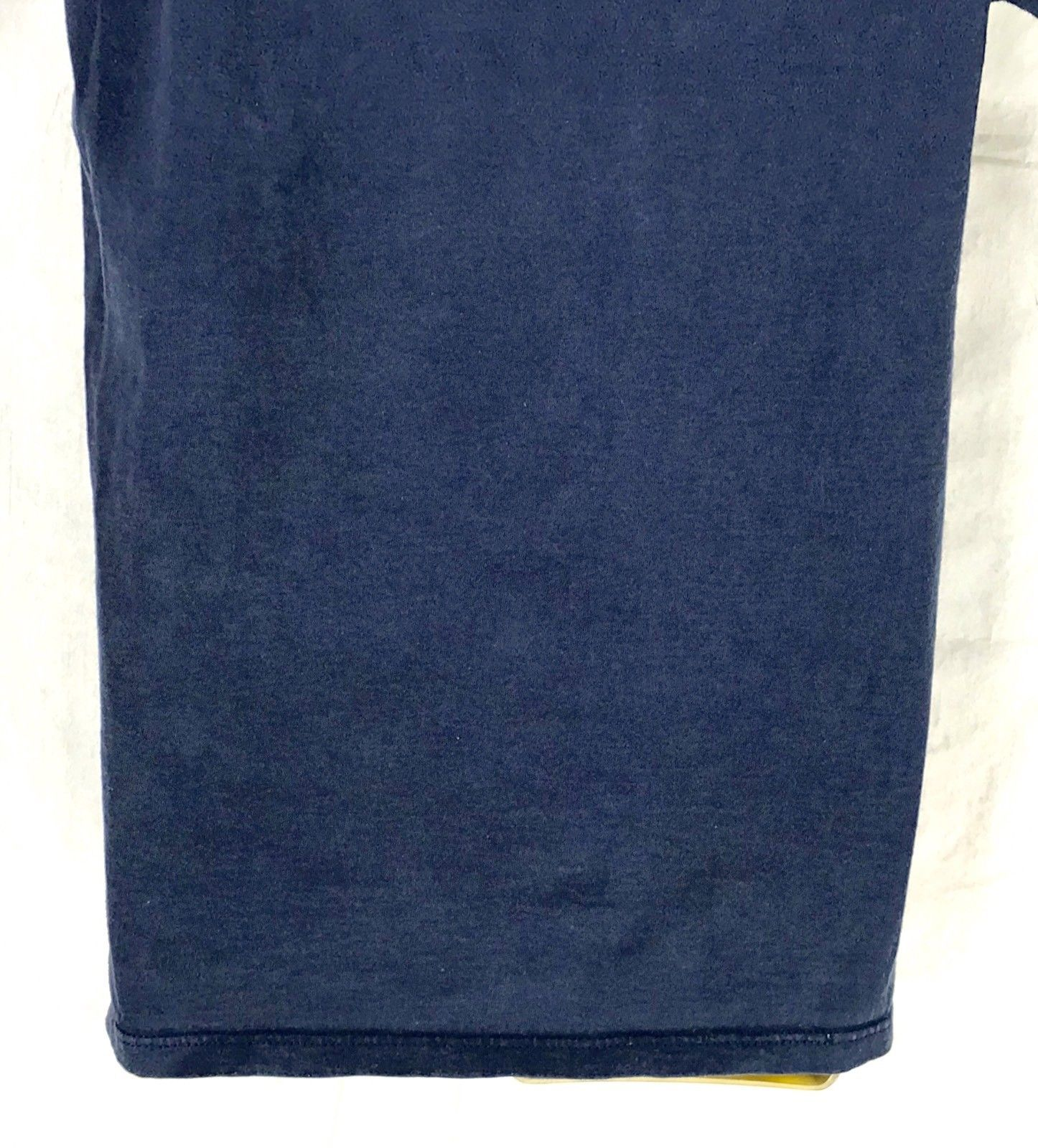 Vintage Russell XXL Athletic T Shirt Blue Faded Adult Size Medium Made In USA