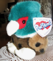 Puffkins- Autumn, the Pheasant- Stuffed Plush-Swibco- Born 1-29-1999 - $6.50