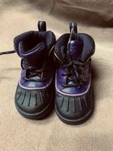 Nike Size 7C 524877-500 Woodside 2 ACG Purple Duck Rain Snow Boots Girls - $13.98