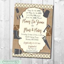 HONEY DO Shower Invitation printable/Digital File/Tool Shower, Handyman ... - $14.99