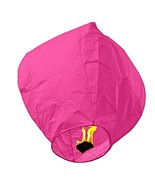 SKY LANTERNS 14 Pack - Assorted Colors (14 PINK) - $13.81