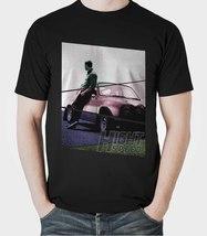 Hight Speed Men's T-Shirt Car Paul Walker Fast & Furious 8 Black T-Shirt - $18.95