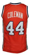 Derrick Coleman #44 Custom College Basketball Jersey New Sewn Orange Any Size image 2
