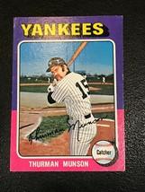 1975 Topps Mini Baseball Card #20 Thurman Munson - $12.82