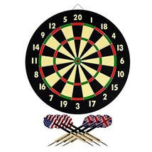 Hey! Play! 15-DG5218 TG Dart Game Set with 6 Darts and Board Dart Board - $26.44